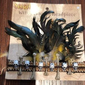 NWT witch doctor headpiece